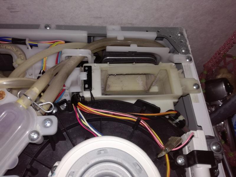 ドラム洗濯機分解